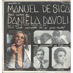Manuel De Sica Lp Vinile Quel Movimento Che Mi Piace Tanto / Aris ANL4006 Nuovo