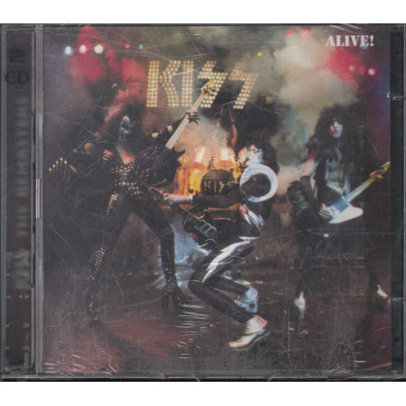 Kiss 2 CD Alive! / Mercury ‎532 377-2 Sigillato 0731453237728