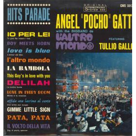 Angel Pocho Gatti Featuring Tullio Gallo Lp Vinile Hits Parade Nuovo