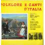 AA.VV. Lp Vinile Folklore E Canti D'Italia / Ala Record LP ALA 1 Nuovo