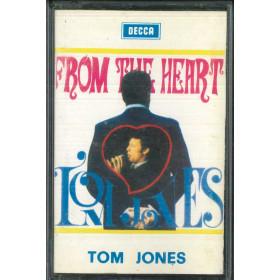 Tom Jones MC7 From The Heart / 8952 DIMC Nuova