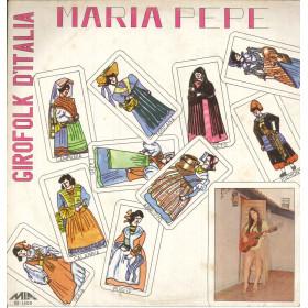 Maria Pepe Lp Vinile Girofolk D'Italia / MIA Records M-1400 Nuovo