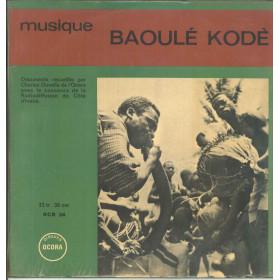Baoule Lp Vinile Musique Baoule - Kode / Ocora OCR 34 Nuovo