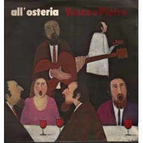 Vasco E Pietro Lp Vinile All'Osteria / Family Records SFR-RI 646 Nuovo