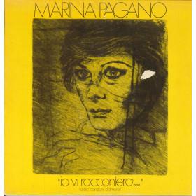 Marina Pagano Lp Io Vi Raccontero Dieci Canzoni D'Amore / Harmony LPH 8002 Nuovo