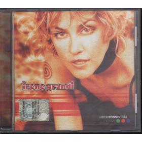 Irene Grandi CD Verde Rosso E Blu / CGD East West 8573 80521-2 Sigillato