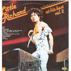 Little Richard ‎‎Lp Vinile At His Best Vol 2 / Joker SM 3883 Italia Nuovo