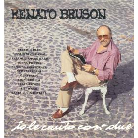 Renato Bruson Lp Vinile Io Le Canto Cosi Due / BMG Ariola Sigillato