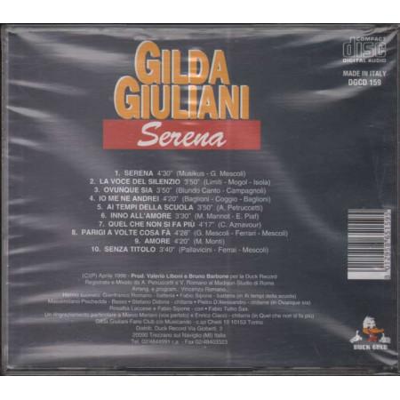 Gilda Giuliani CD Serena Nuovo Sigillato 8012958651595