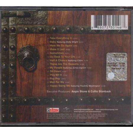 Angie Stone  CD The Art Of Love & War - Stax Nuovo Sigillato 0888072301467