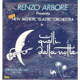 Renzo Arbore Lp Vinile Quelli Della Notte / Fonit Cetra PL 748 Sigillato
