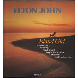 Elton John ‎Box 3 Lp Vinile Island Girl / MCA Records ‎9081/3 Nuovo