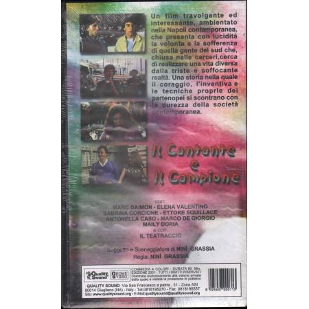Il Cantante E Il Campione VHS Nini Grassia / E Valentino Quality Sound Sigillato