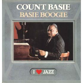 Count Basie Lp Vinile Basie Boogie / CBS 21063 I Love Jazz Nuovo