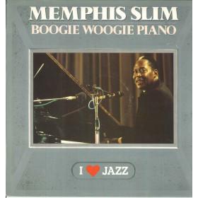 Memphis Slim Lp Vinile Boogie Woogie Piano / CBS 21106 I Love Jazz Nuovo