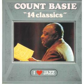 Count Basie Lp Vinile 14 Classics / CBS 21133 I Love Jazz Olanda Nuovo