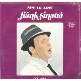 Frank Sinatra Lp Vinile Speak Low - Dal Vivo / Durium BL 7071 Nuovo