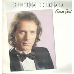 Franco Dani Lp Vinile Sincera Serenata / Duck Record G.D.L.P. 011 Sigillato