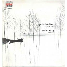 Gato Barbieri / Don Cherry Lp Vinile Togetherness / Durium Start Sigillato