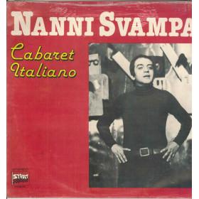 Nanni Svampa Lp Vinile Cabaret Italiano / Durium Start LP.S 40.047 Sigillato