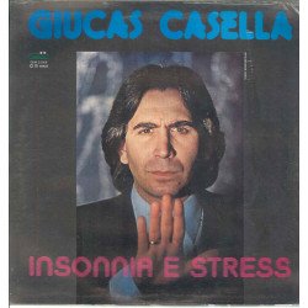 """Giucas Casella Vinile 12"""" Insonnia E Stress / Gemini GEM 33006 Sigillato"""