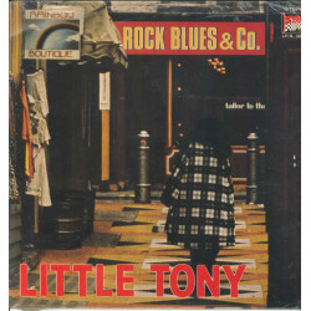 Little Tony Lp Vinile Rock Blues & Co / Durium LP.S. 40098 Sigillato