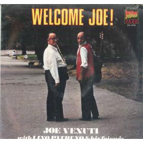 Joe Venuti / Lino Patruno Lp Vinile Welcome Joe / Durium LP.S. 40133 Sigillato