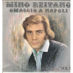 Mino Reitano Lp Vinile Omaggio A Napoli Vol 1 / Durium RHL9606 Sigillato