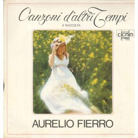 Aurelio Fierro Lp Vinile Canzoni D'Altri Tempi 4 Raccolta / Durium Sigillato