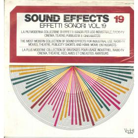 AAVV Lp Effetti Sonori / Sound Effects Vol 19 / Vedette VSM 38582 Sigillato