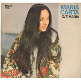 Maria Carta Lp Vinile Ave Maria / RCA International TNL1-1090 Nuovo
