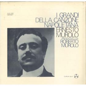Ernesto Murolo Lp Vinile I Grandi Della Canzone Napoletana / Durium Sigillato