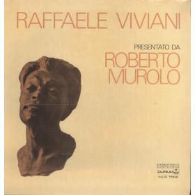 Roberto Murolo Lp Vinile Raffaele Viviani Presentato Da / Durium Sigillato