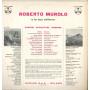 Roberto Murolo E La Sua Chitarra Lp Omonimo Same Durium ms AI 77094 Nuovo