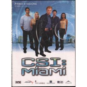 C.S.I. Miami Stagione 01 Ep 01 12 DVD David Caruso / Emily Procter Sigillato