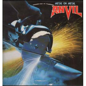 Anvil Lp Vinile Metal On Metal / Attic A 120 AT 1130 Nuovo