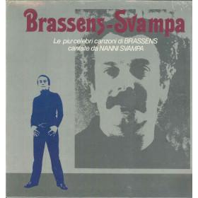 Nanni Svampa Brassens-Svampa Lp Le Piu Celebri Canzoni di Brassens Cantate Da