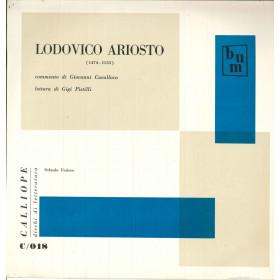 Lodovico Ariosto Lp Orlando Furioso / Calliope Dischi Di Letteratura Nuovo