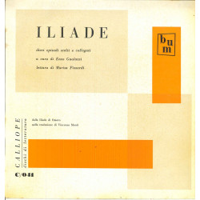 Gualazzi / Pizzardi Lp Omero Iliade / Calliope Dischi Di Letteratura Nuovo