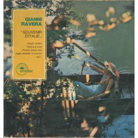 Gianni Ravera Lp Vinile Souvenir D'Italie / EMI 3 C 048 50443 M Nuovo