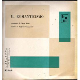 Musa / Giangrande Lp Il Romanticismo / Calliope Dischi Di Letteratura Nuovo