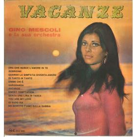 Gino Mescoli E La Sua Orchestra Lp Vinile Vacanze / Style STLP 8066 Nuovo