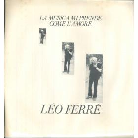 Leo Ferre Lp Vinile La Musica Mi Prende Come L'Amore / Love LVL 20001 Sigillato