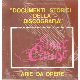 E Caruso Lp Arie Da Opere Documenti Storici / Arpa Dischi Murray Hill Sigillato