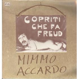 Mimmo Accardo Lp Vinile Copriti Che Fa Freud / CLS MD TP 015 Sigillato