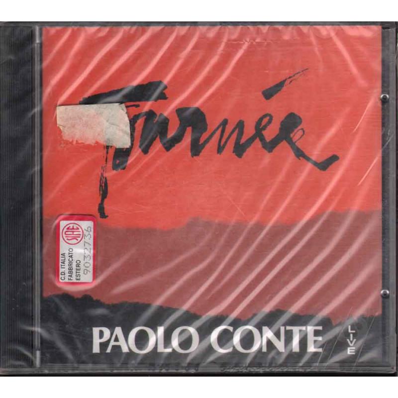 Paolo Conte CD Tournee - Live Bollino SIAE Bianco Sigillato 0745099425227
