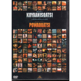 Koyaanisqatsi - Powaqqatsi DVD Reggio Godfrey / Philip Glass Sigillato