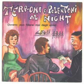 """Franco Trincale Vinile 45 giri 7"""" Terroni E Polentoni Al Night - Nuovo"""