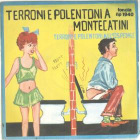 "Franco Trincale Vinile 45 giri 7"" Terroni E Polentoni A Montecatini - Nuovo"