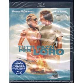 Tutti Pazzi Per L'Oro BRD Blu Ray Disk Kate Hudson Matthew McConaughey Sigillato